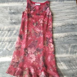 Vintage Floral Jessica Howard Dress